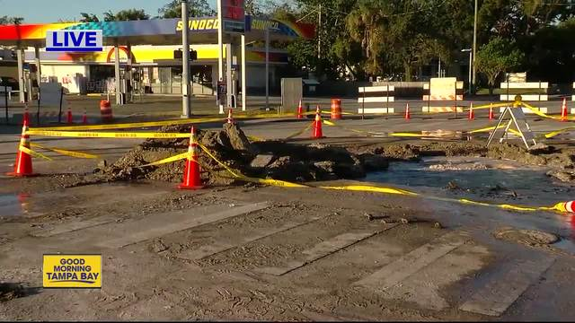 Area water main breaks contributed to cold weather
