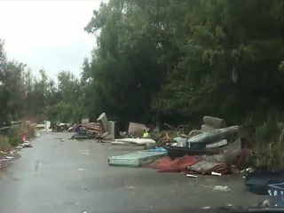 Pasco officials cleanup excessive debris