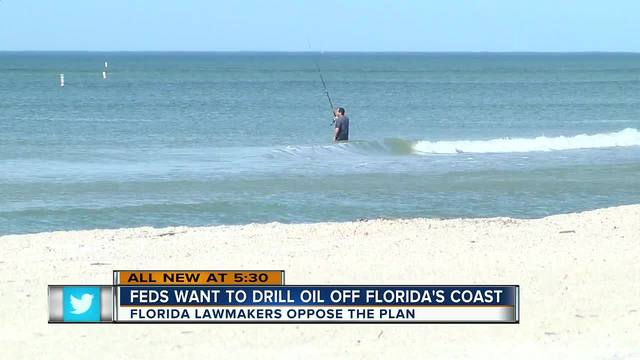 Republicans and Democrats in Florida found something they can agree on they're against offshore oil drilling on the Florida Gulf coast