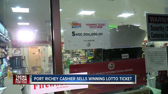 Winning Mega Millions ticket sold in Florida for $450 million jackpot