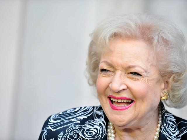 Betty White is celebrating her 96th birthday today