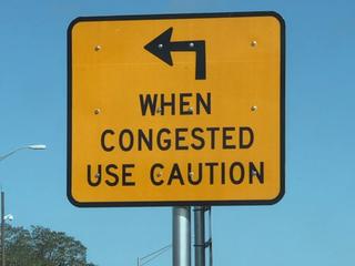 New traffic sign on US 19 draws criticism