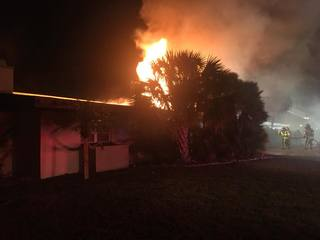 Two injured in Apollo Beach house fire