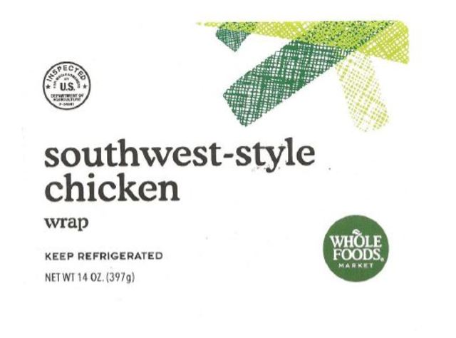 Ready-to-eat chicken salad products recalled