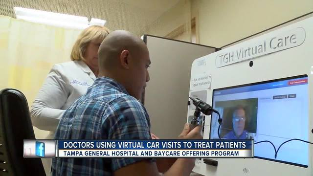 Doctors using virtual care visits to treat flu patients from home so…