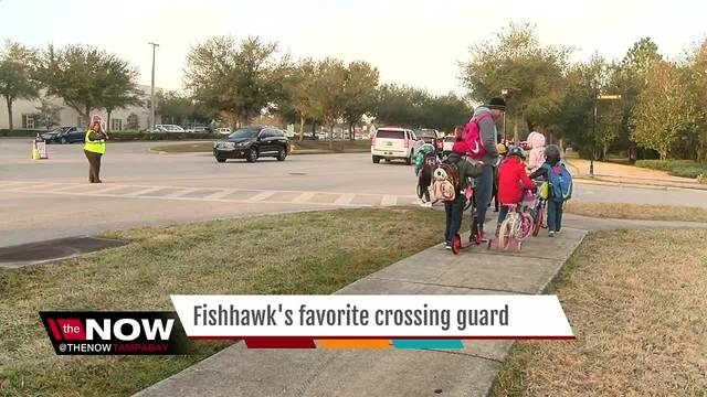 Vote Now- Lithia crossing guard up for America-s Favorite Crossing Guard title