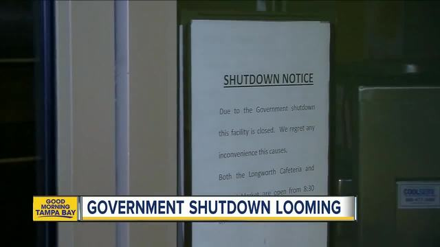 Government Shutdown- House passes short-term spending bill- setting up…