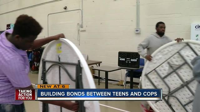 -Impact Tampa- event aims to help teens and law enforcement build positive bonds