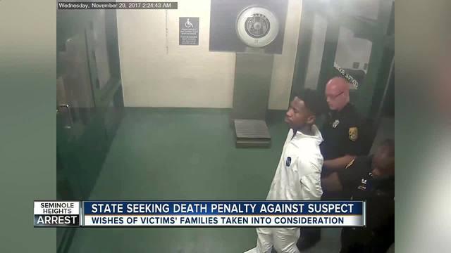 Seminole Heights Killings- State will seek death penalty against suspect