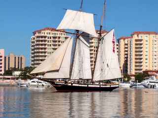 Gasparilla offers educational opportunities too