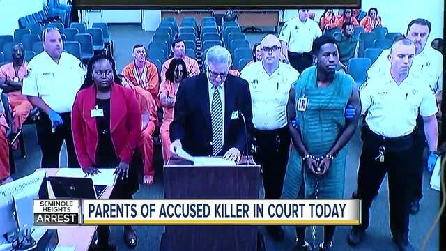 Accused Seminole Heights killer in court today