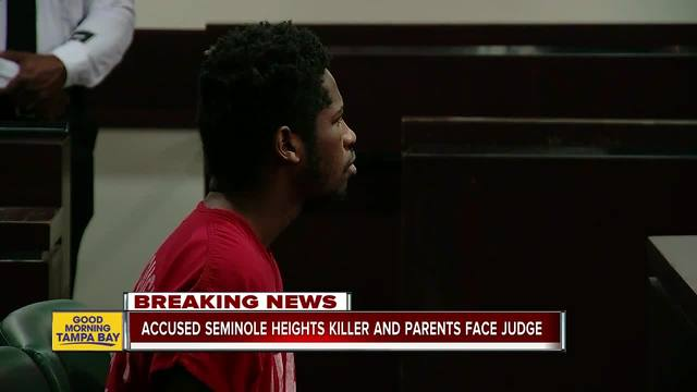 Accused Seminole Heights killer and his parents face judge- next court…