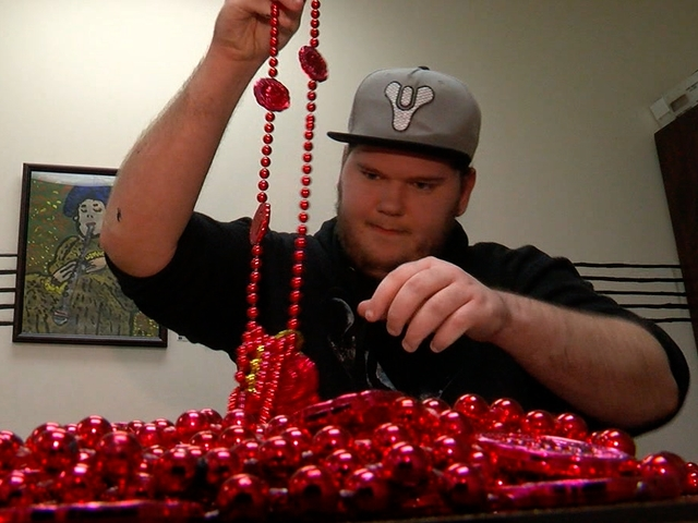 Gasparilla bead recycling helping disabled