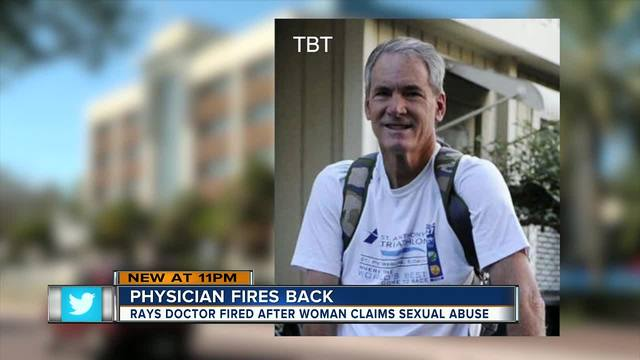 Rays Fire Doctor Amid Sexual Abuse Allegations