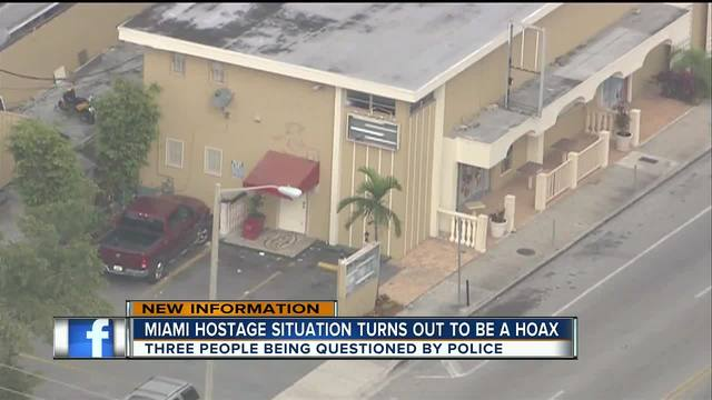 Alleged hostage-taking at Miami club appears to be hoax