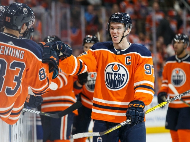 McDavid has four goals, assist against Lightning