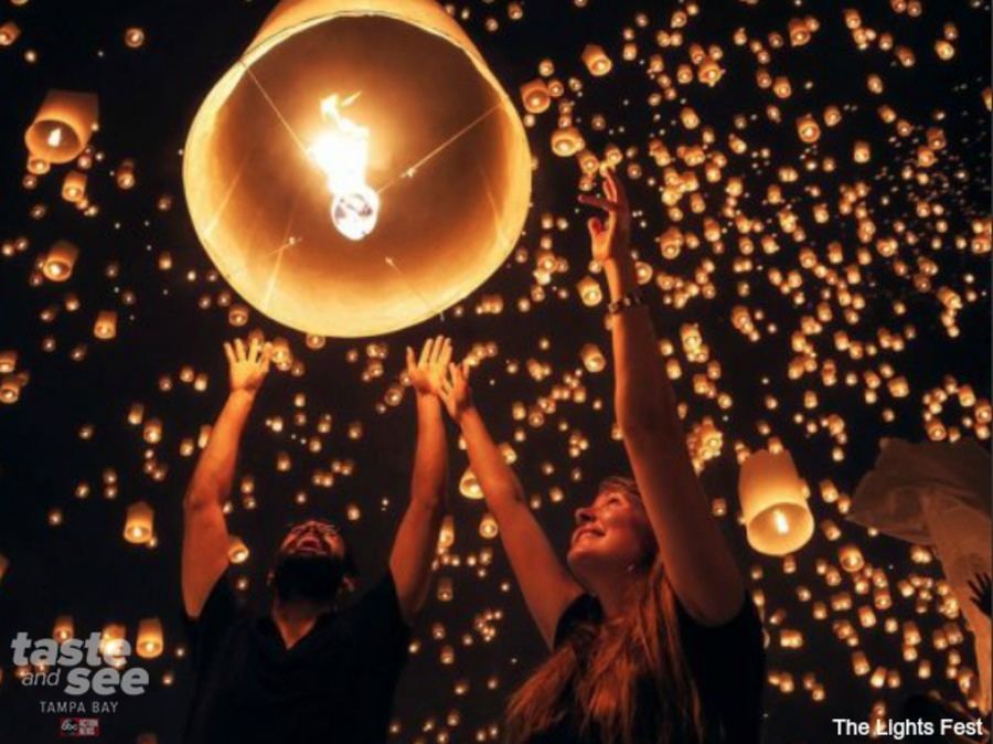 The Lights Fest Will Bring Thousands Of Sky Lanterns To Tampa Bay    Abcactionnews.com WFTS TV