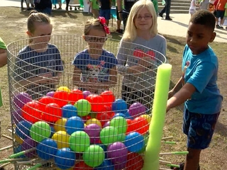 Kids invents new games for Special Olympians