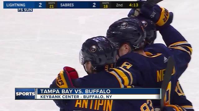 Sabres lose Eichel again to ankle injury