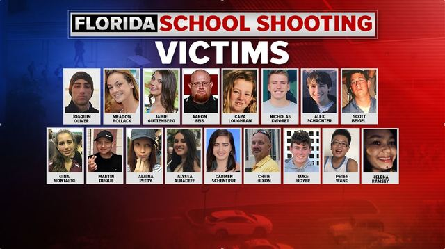 gallery victims killed in florida high school mass shooting