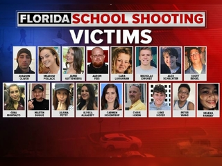 Victims killed in Florida high school shooting