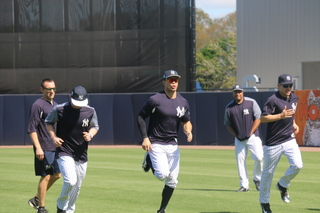 Photos: Stanton, Judge, Yankees start workouts