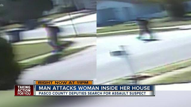 Pasco Sheriff-s Office looking for man who invaded home- sexually…