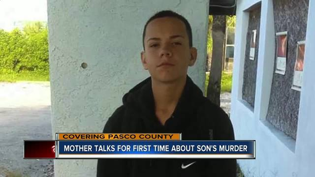 Mother of murdered 14-year-old Port Richey boy looking for answers