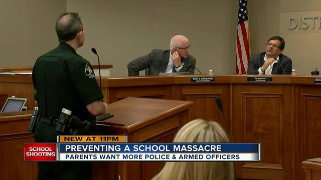Tampa Bay Congressman- board members brainstorm new school security measures