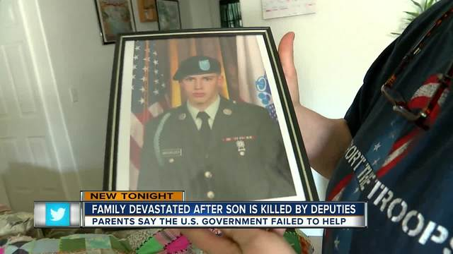 Family devastated after son is killed by deputies