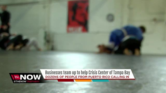 Crisis Center of Tampa Bay helping answer dozens of calls from Puerto…