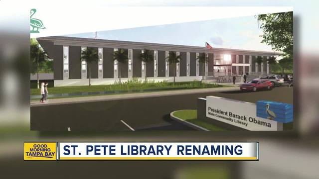 St- Petersburg to rename library after President Barack Obama