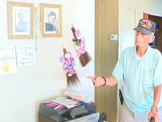WWII Veteran facing eviction gets new home