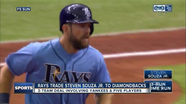 3-way trade sends Souza to D-backs, Drury to Yanks
