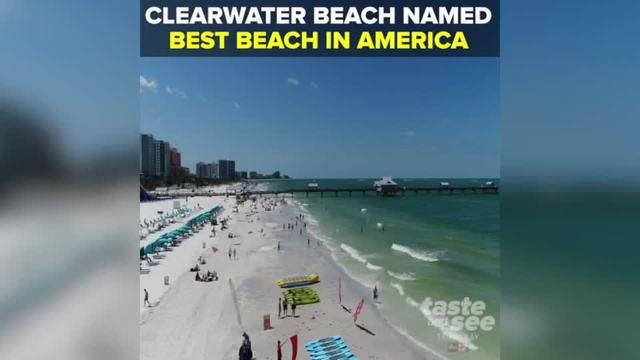 Clearwater Beach named -Best Beach in America- for 2018 - Taste and See…