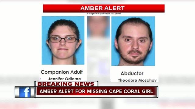 Amber Alert Canceled For  Year Old Girl From Cape Coral