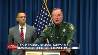 Polk Sheriff proposes school safety, guns laws