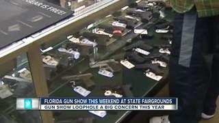 How gun control relates to upcoming gun show
