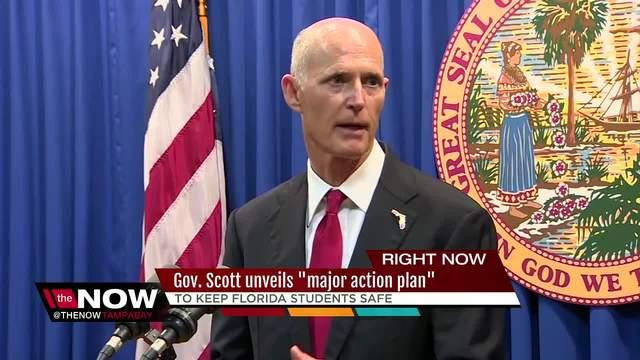 Governor Scott reveals school safety plan