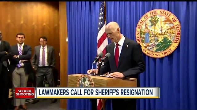 Florida to investigate police response to school shooting that killed 17