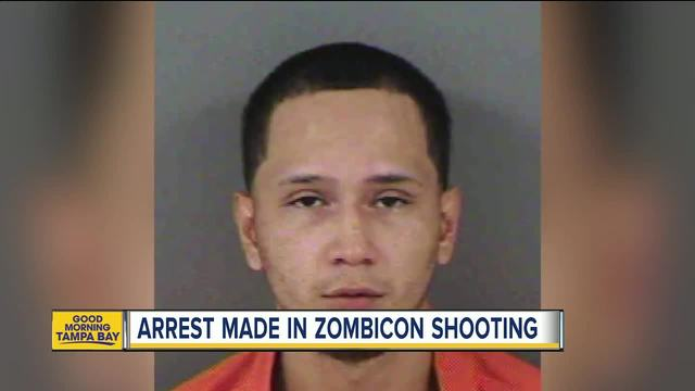 Arrest made in shooting death of former Clewiston football player at Zombicon