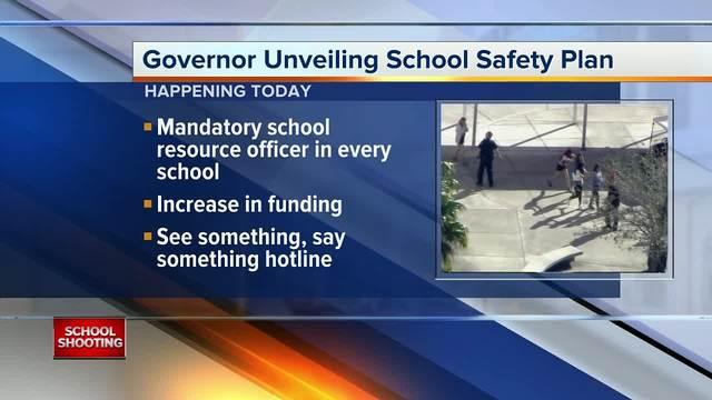 Rick Scott highlights plan to keep Florida students safe