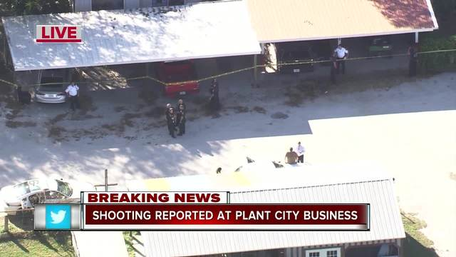 Hillsborough County Sheriff's deputies are responding to reports of a shooting in Plant City