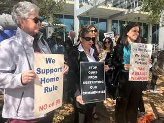 Parkland parents fight for assault weapon ban