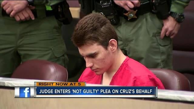 Ex-student charged in Florida school shooting silent in court