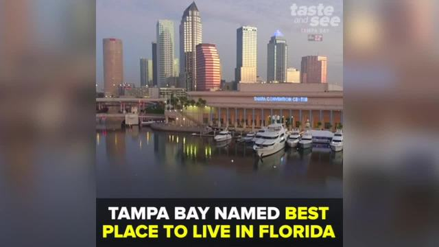 Tampa Bay named -best place to live in Florida- by popular review site…