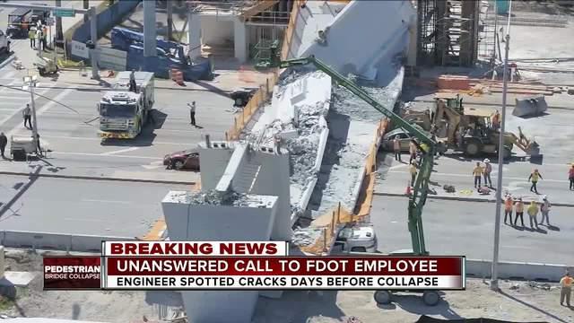 Florida Governor Vows to Prosecute Responsible for Collapse of Pedestrian Bridge