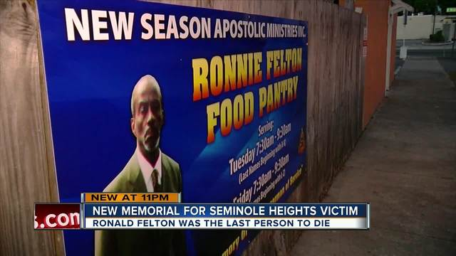 Church renamed food bank in memory of Seminole Heights victim