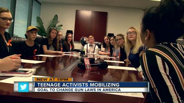 Teenage activists plan march on St- Pete- 3-000 expected to attend rally…