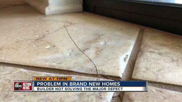 I-Team- Brand new homes come with defective floors and now homeowners…
